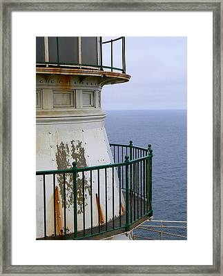 Point Reyes And The Pacific Ocean Framed Print