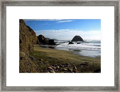 Point Reyes California Framed Print