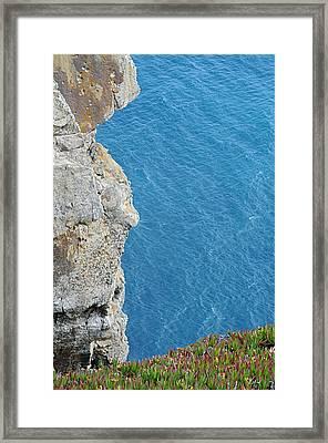 Point Reyes Cliffs Framed Print