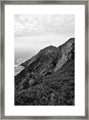 Point Reyes II Bw Framed Print