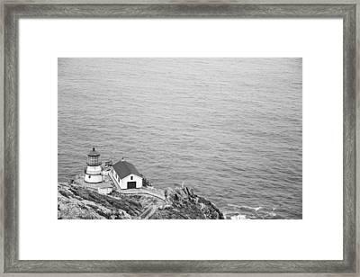 Point Reyes Lighthouse Framed Print by Ralf Kaiser