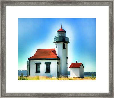 Point Robinson Lighthouse Framed Print