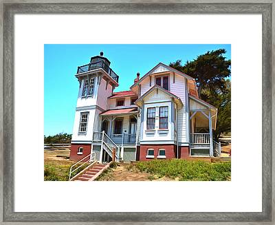 Framed Print featuring the photograph Point San Luis Lighthouse by Floyd Snyder