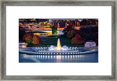 Point State Park  Framed Print