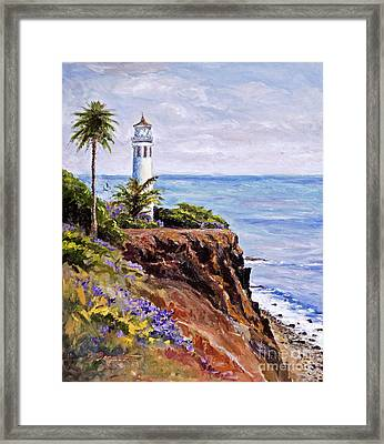 Point Vicente Palos Verdes Framed Print by Jennifer Beaudet