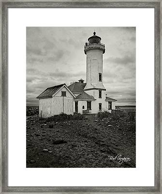 Point Wilson Light Framed Print