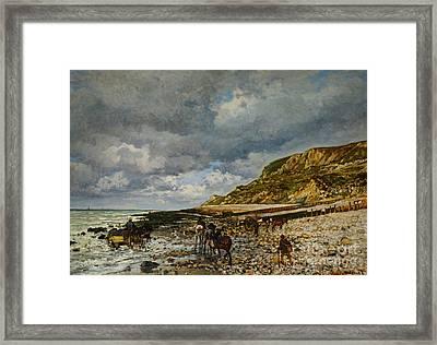 Pointe De La Heve Framed Print