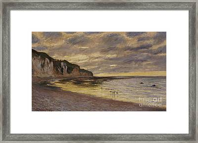 Pointe De Lailly Framed Print