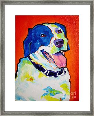 Pointer - Causi Framed Print by Alicia VanNoy Call