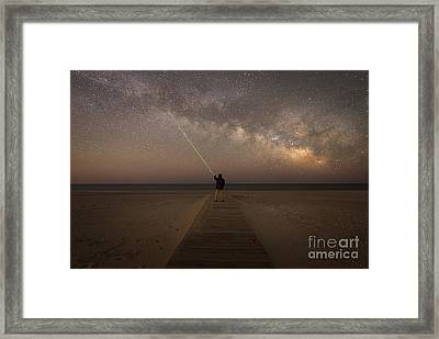 Pointing To The Stars  Framed Print by Michael Ver Sprill