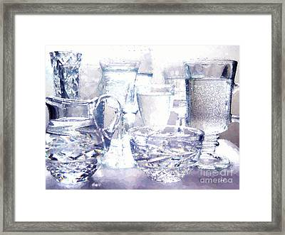 Points Of Light And Color Framed Print by Cheryl Rose