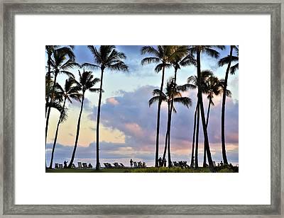 Poipu Beach Framed Print