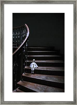 Poirot Framed Print by Art of Invi
