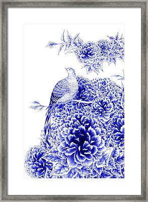 Poise Framed Print by Alice Chen