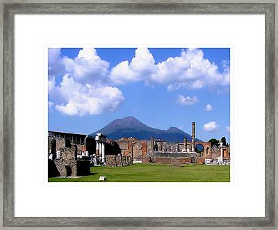 Poised And Ready Framed Print