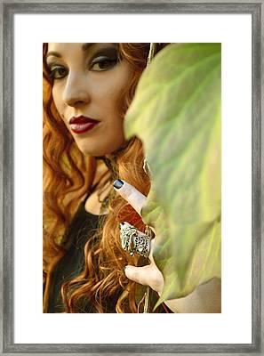 Poison Ivy Framed Print by Pamela Patch