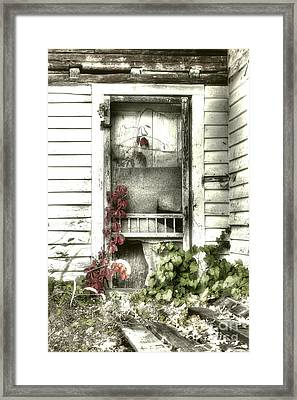Poison Ivy Framed Print by Sari Sauls