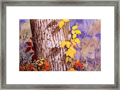 Poisonous Beauty Framed Print by Faye Ziegler