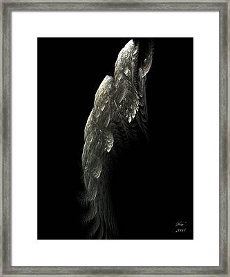Poisson Volant Framed Print by Dom Creations