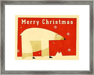 Polar Bear 1 Framed Print by Daviz Industries