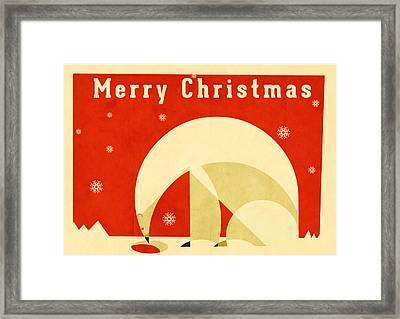 Polar Bear 2 Framed Print by Daviz Industries