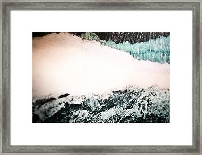 Polar Shift Framed Print by Ryan Kelly
