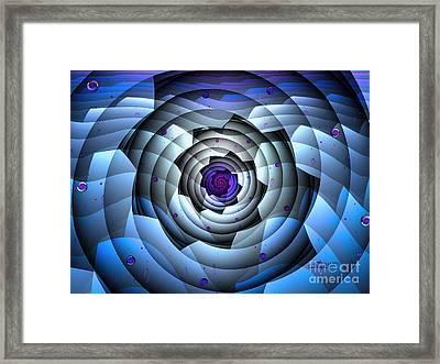 Polar Star Framed Print