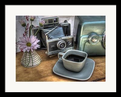 Midcentury Photographs Framed Prints