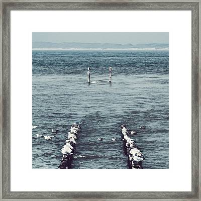Pole Position Framed Print by Wim Lanclus
