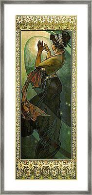 Pole Star 1902 Framed Print by Padre Art