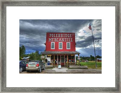 Polebridge Mercantile Framed Print
