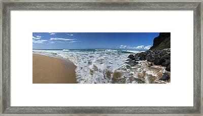Poli Hale Kauai Framed Print by Steven Lapkin