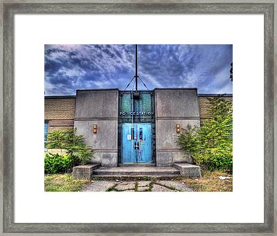 Police Station Framed Print by Tammy Wetzel