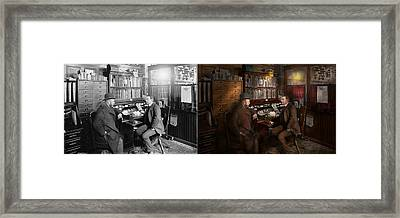 Police - The Private Eye - 1902 - Side By Side Framed Print by Mike Savad