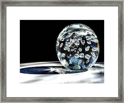 Polished Framed Print by Karen Scovill