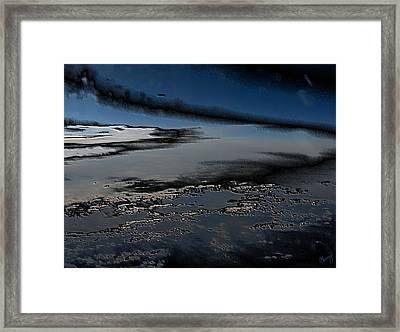 Polished Sky Framed Print