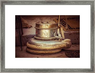 Polisher Framed Print by Terry Davis