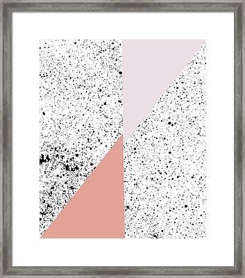 Polka Art Framed Print