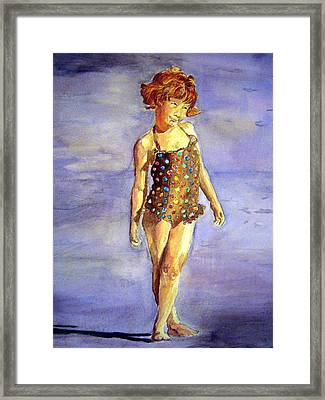 Polka Dot Framed Print by Susan Gauthier