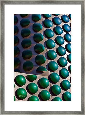 Polka Dots Framed Print by Christopher Holmes
