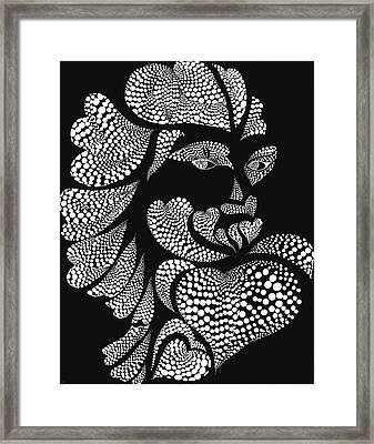 Polkadot Lover Framed Print