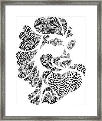 Polkadot Lover Original Framed Print