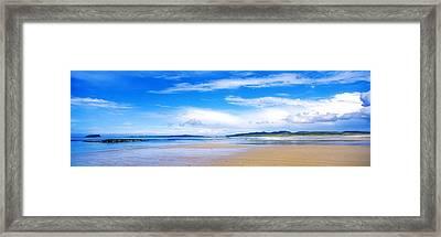 Pollan Strand, Inishowen, County Framed Print