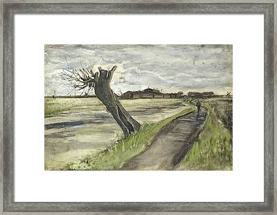 Pollard Willow, 1882 Framed Print by Vincent Van Gogh