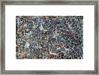 Pollock's Ghosts Framed Print by Biagio Civale