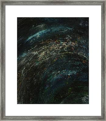 Pollution Galaxy Framed Print by Kathleen Wong