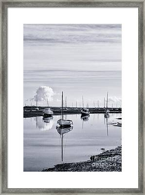 Pollywiggle Brancaster Staithe Norfolk Uk Framed Print by John Edwards