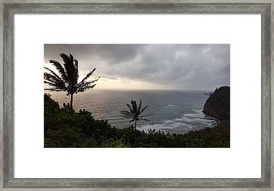 Pololu Valley, Hawaii Framed Print