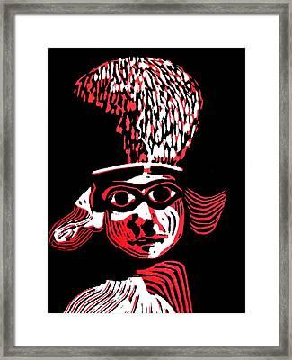 Polos Red Framed Print by Patricia Bigelow