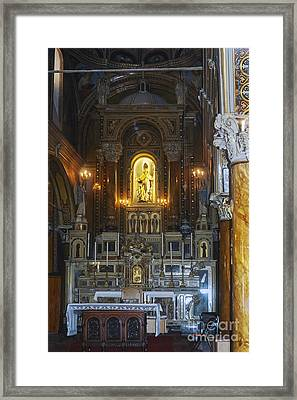 Polycarp Catholic Church Framed Print by Bob Phillips